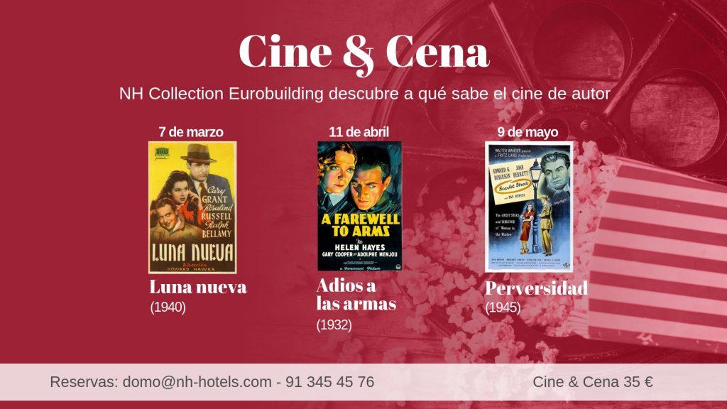 VW Cine y Cena - Primavera'19